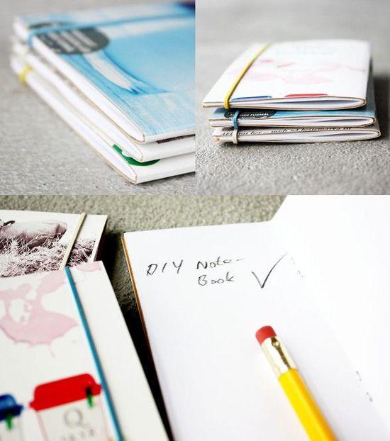 DIY: notebooks