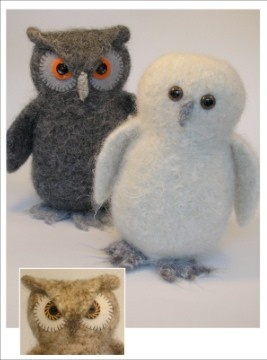 knit your very own owl