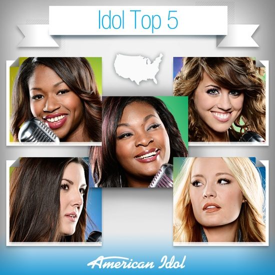 American Idol  top five all girls this past year