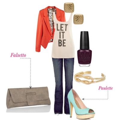 Falsetto clutch #handbags