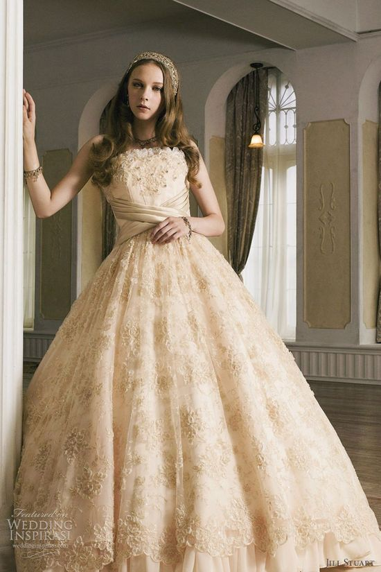 Jill Stuart 2012 bridal collection. wedding dress, bride