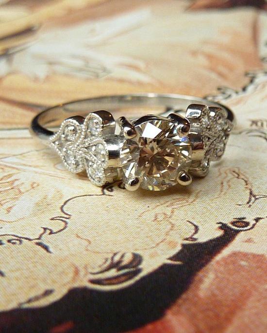 Vintage Petal Ring