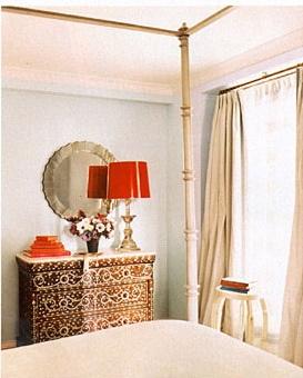 Ivanka Trump's bedroom design by Emma Jane Pilkington.
