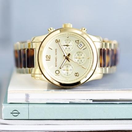 Watches - Michael Kors Tortoiseshell Watch