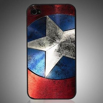 Captain America Phone Case For IPhone 4/4s/5 for only $15.99 ,cheap Creative Iphone Cases - Iphone Accessories online shopping,Captain America Phone Case For IPhone 4/4s/5 This slim fit iPhone case compatible with Apple iPhone 4/4S or iPhone 5!