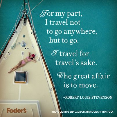 Why do you travel? #Quote
