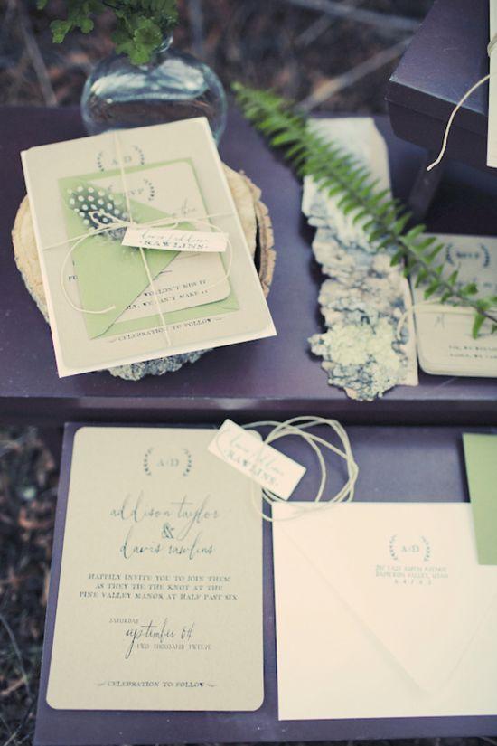 green invites     gideon photography