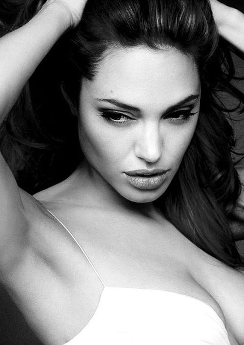 Angelina, she's so darn hot!