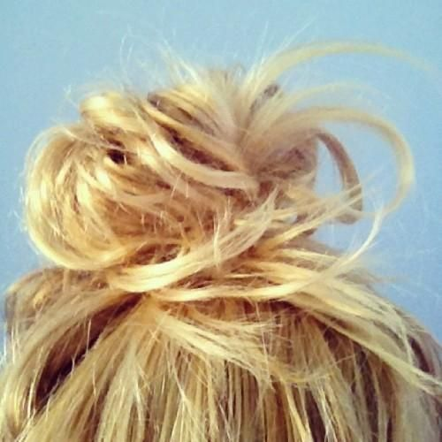 perfect messy bun