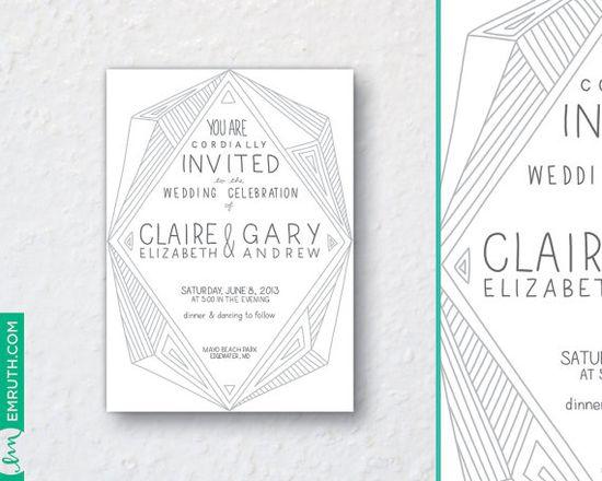 C Wedding Invitation