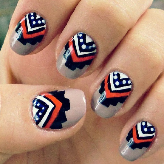 carolovesthis's nails! Show us your tips—tag your nail photos with #SephoraNailspotting to be featured on our social sites!