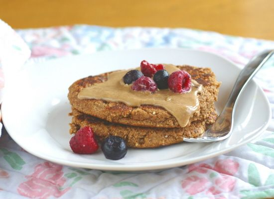 quinoa pancakes pancakes pancakes! I might have to try this!