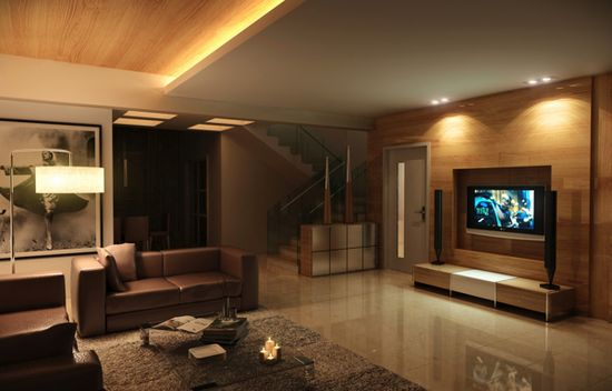 Living Room / Interior Design