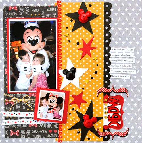Disney Character Page