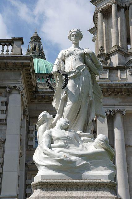 Titanic Memorial  Belfast, Northern Ireland www.facebook.com/...