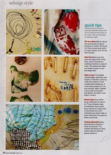 courage to create: dropcloth decor and do it yourself magazine