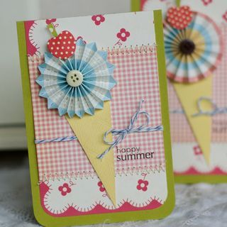 Pinwheel and gingham