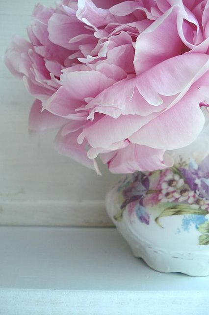 Peonies in Vase by such pretty things, via Flickr
