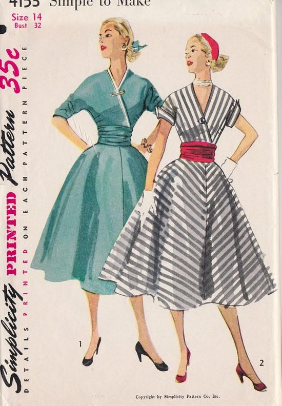 1950s Misses Rockabilly OnePiece Dress