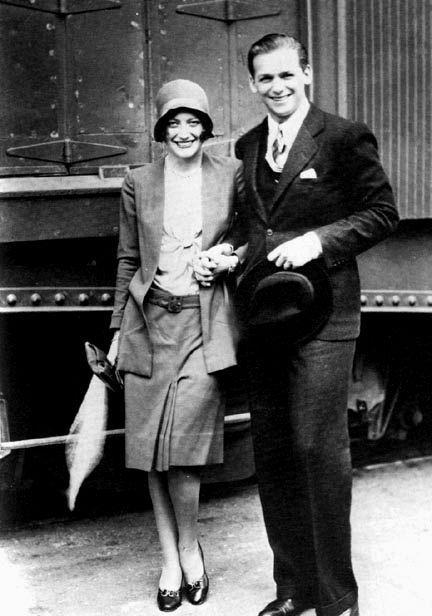 Joan Crawford & Douglas Fairbanks Jr.
