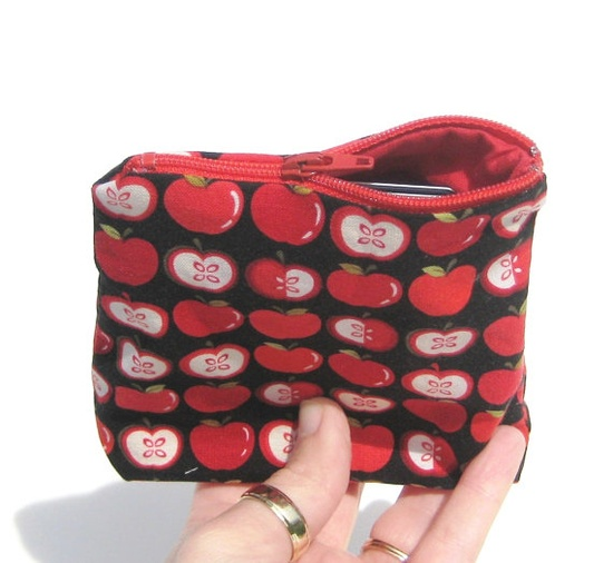 Coin #Purse #Teacher #Gift Small #Pouch Change by #SmiLeaGainCreations, $6.00
