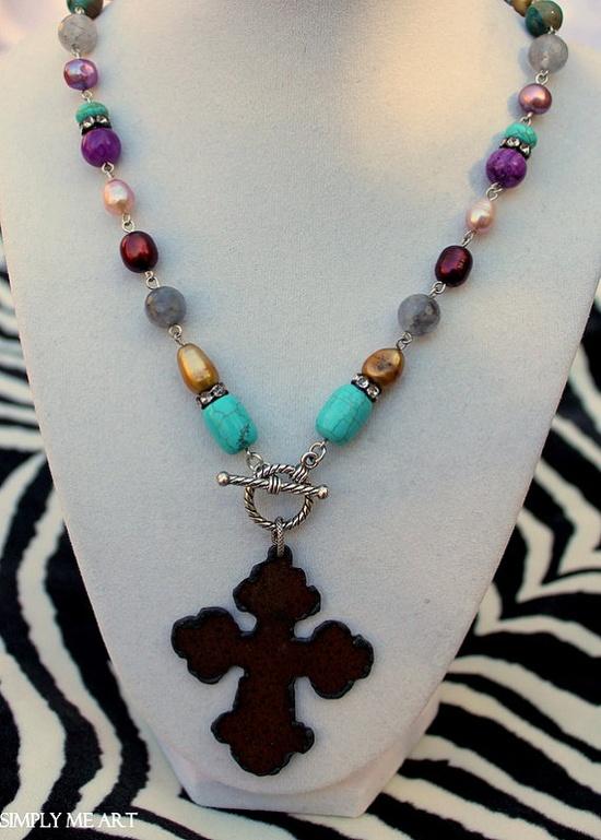 Gemstones, Semi Precious Stones, Fresh water Pearls and touches of Rhinestones.