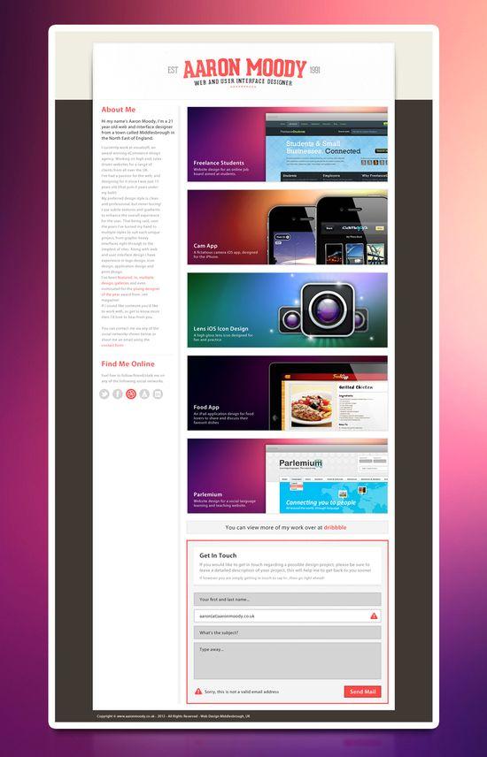 Aaron Moody #webdesign