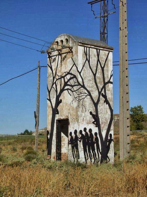 Street Artist : David De La