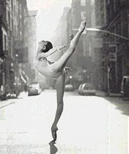 Paloma Herrera (American Ballet Theatre) by Michael O'Neill, Spring Street, Manhattan, NYC 1994