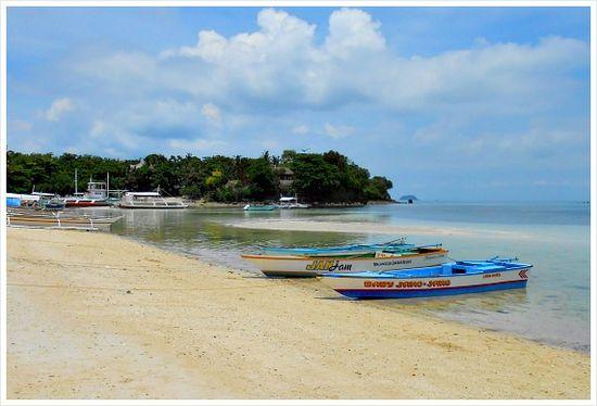 Tepanee Beach Resort on Malapascua Island