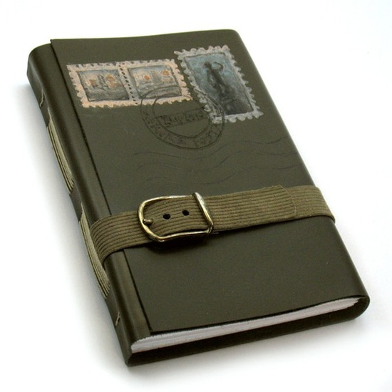 Journal with a belt