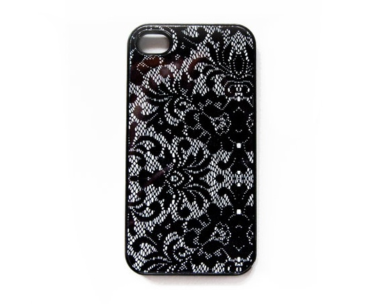 Pretty Lace Pattern iPhone 4 Case