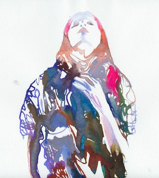 Watercolor by silver ridge studio