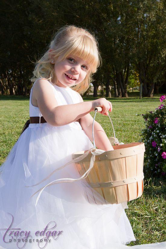 My beautiful flower girl