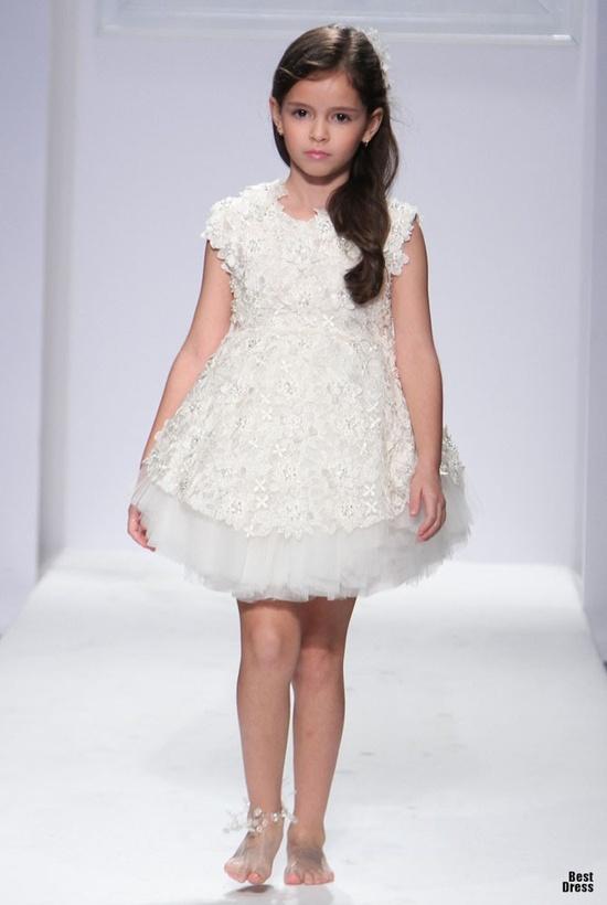 Mischka Aoki flowergirl dress.