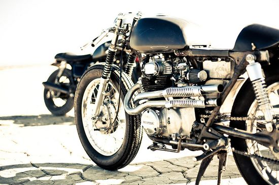 cafe racer - scramblers rock.!