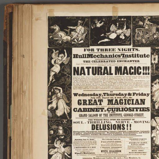 Magicians scrapbook :: Harry Houdini Scrapbook Collection