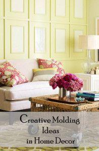 Creative Molding Ideas in Home Decor