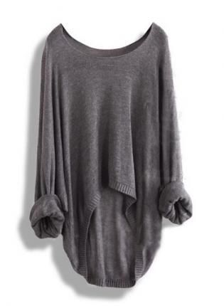 Comfy gray sweater