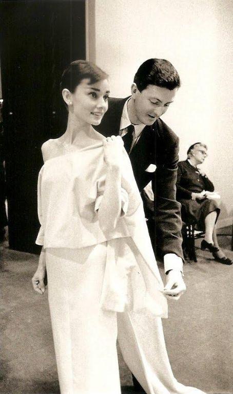 Audrey Hepburn + Hubert de Givenchy