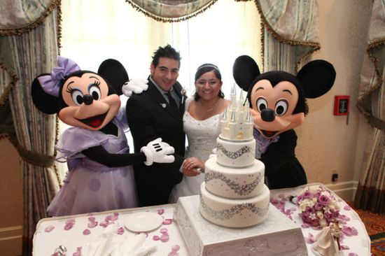 Disney Wedding Inspiration: Real Disney Weddings - Melissa and Peter