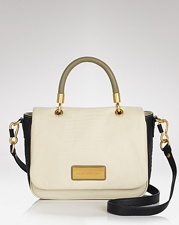 MARC BY MARC JACOBS Satchel - Too Hot To Handle Colorblocked Small
