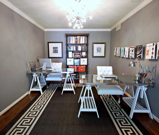 grey office