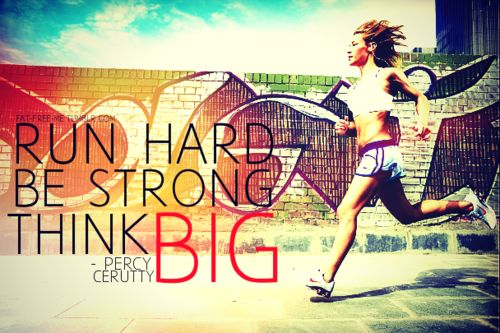 think big. #run #fitfluential