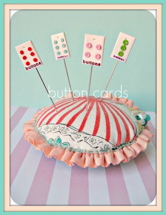 Mini Button Cards
