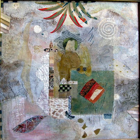 Wandering by franswazz,    Mixed Media Collage