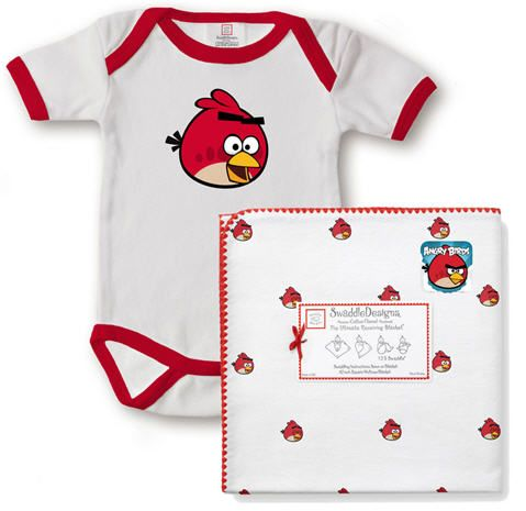 SwaddleDesigns Angry Birds Baby Products