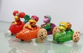 Happy Meal Fraggle Rock toys