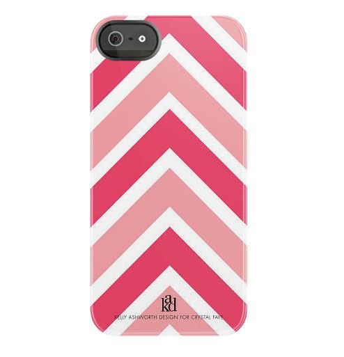 iPhone Case Pink Chevron Print by ShopCF on Etsy, $42.00