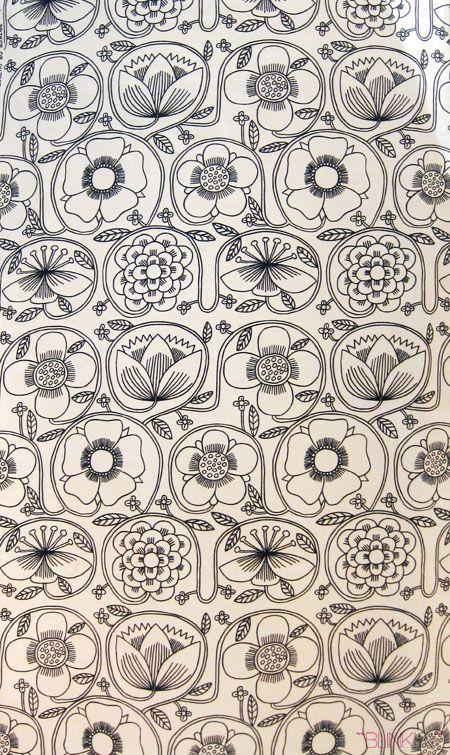 Juliet Glynn Smith textile design. 1965.